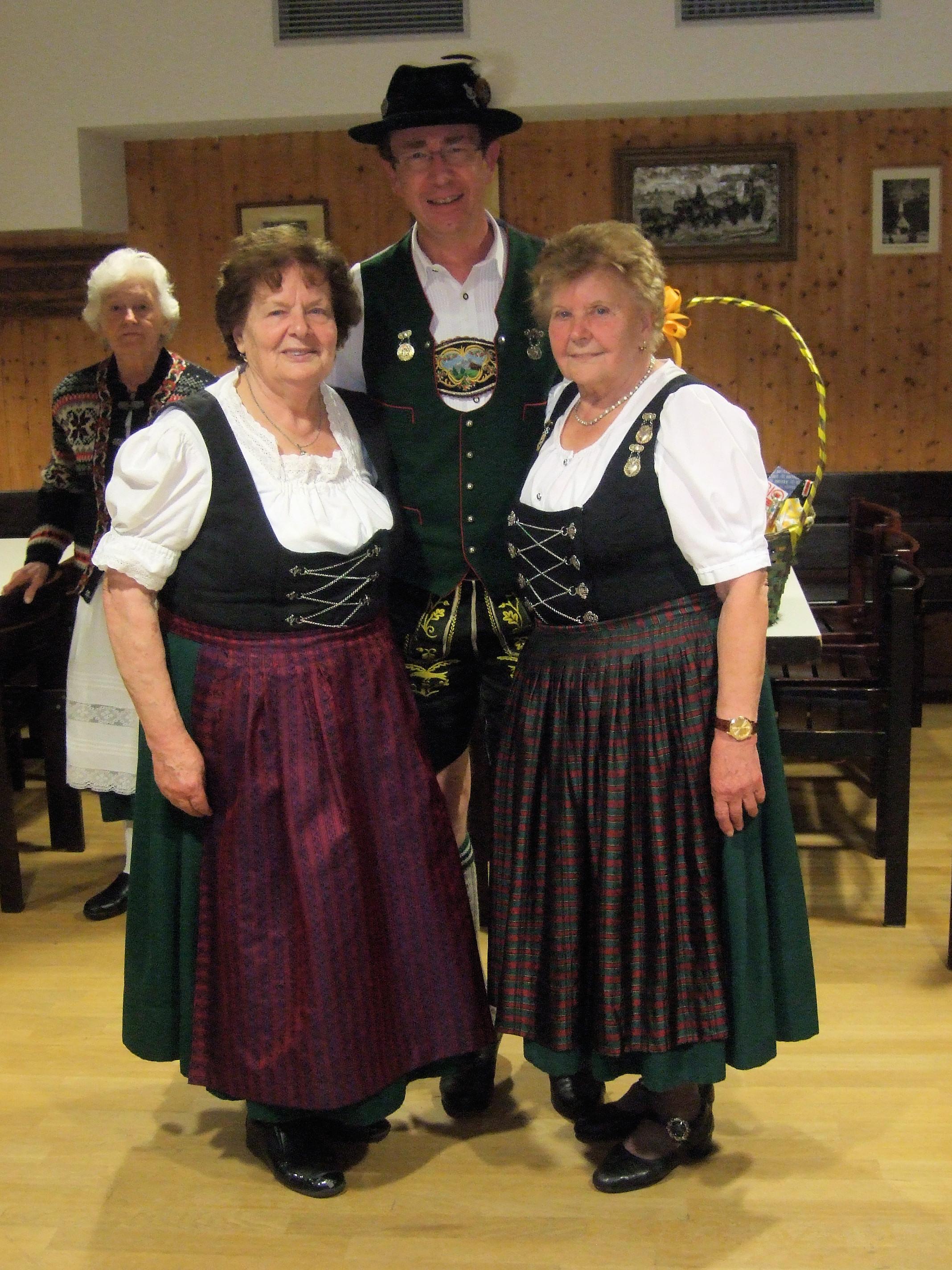 v.l. : Rosemarie Sollinger, Ralf Hollenbach, Erna Tischler