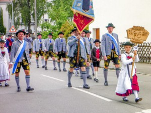Fahnenweihe Mammendorf 2014 2