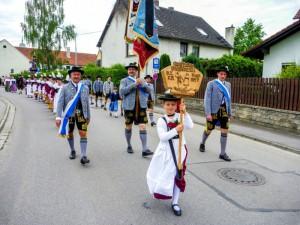 Fahnenweihe Mammendorf 2014 3